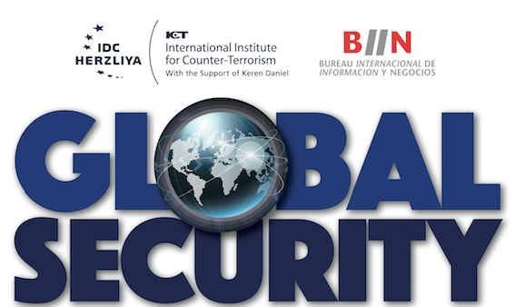 Imagen GLOBAL SECURITY The International Institute for Counter-Terrorism (Israel) por primera vez en México