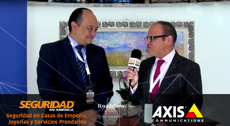 Imagen <div class='uppCas'>M</div>anuel Zamudio, Industry Associations manager del norte de Latinoamérica y el Caribe de Axis Communications