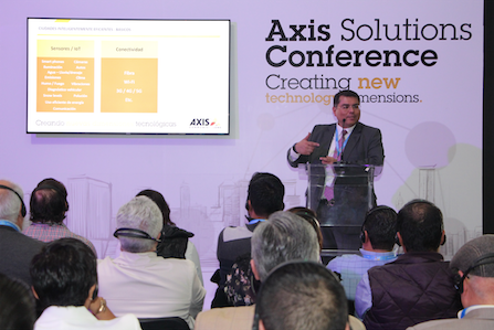 Imagen Axis Communications presenta Axis Solutions Conference 2019